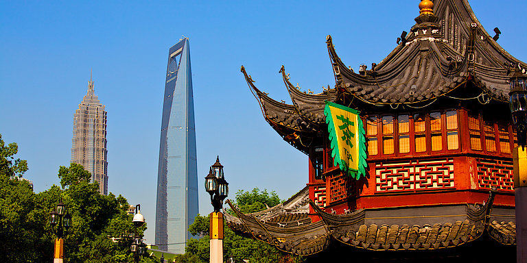 Shanghai: Mega-City mit traditionellem Charme